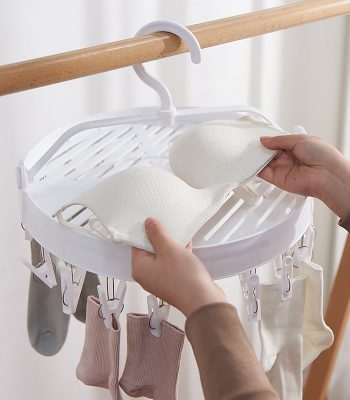 Rotatable Drying Rack, 18 Pegs