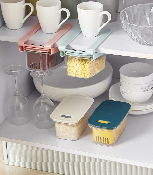 Pull-Out Food Storage Box