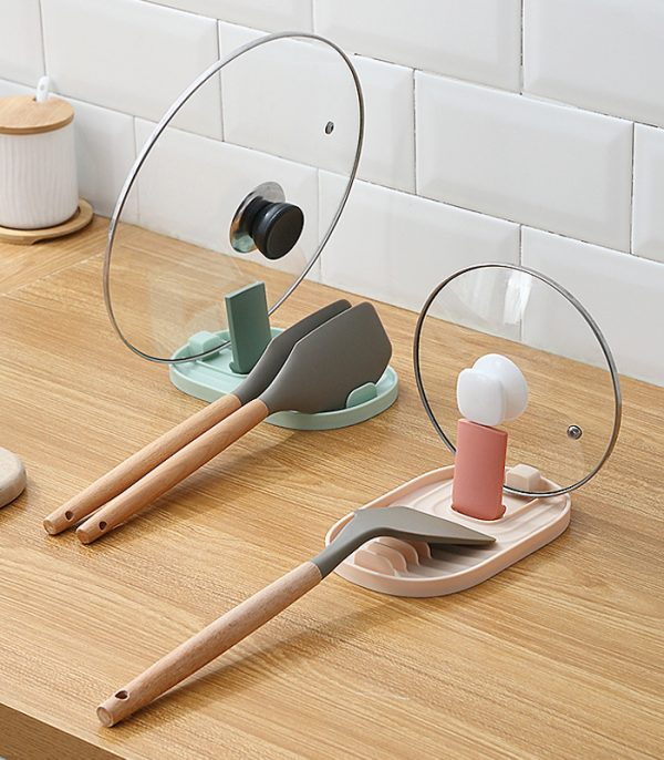Lid and Utensil Rest Holder