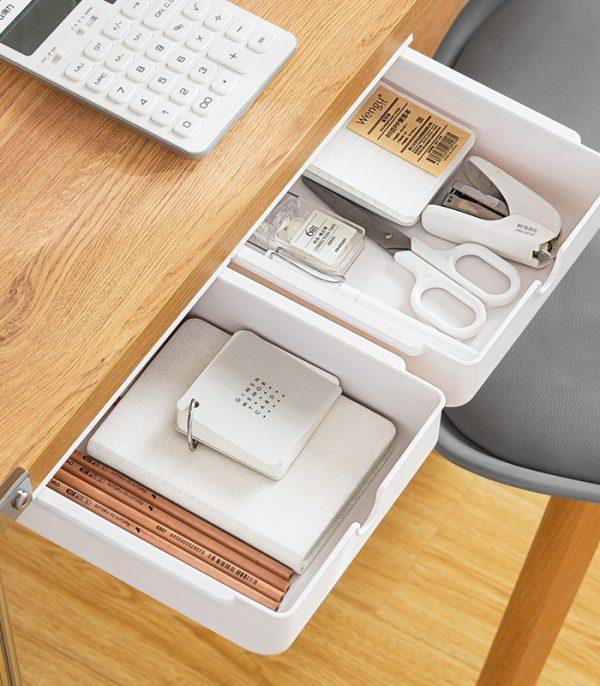 Desk Storage Hidden Drawer